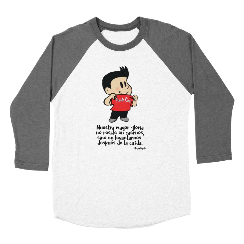 Orgullo Pepito Women's Baseball Triblend Longsleeve T-Shirt by La Tiendita Pepito