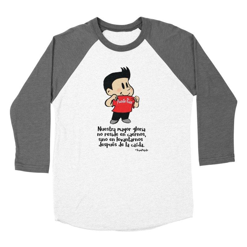 Orgullo Pepito Men's Baseball Triblend Longsleeve T-Shirt by La Tiendita Pepito