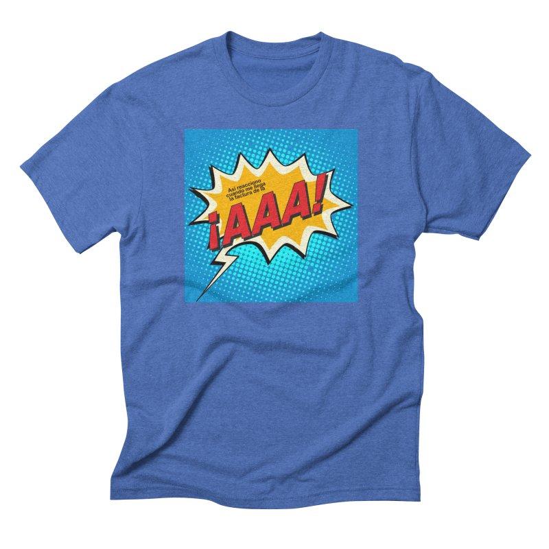 ¡AAA! Men's Triblend T-Shirt by La Tiendita Pepito