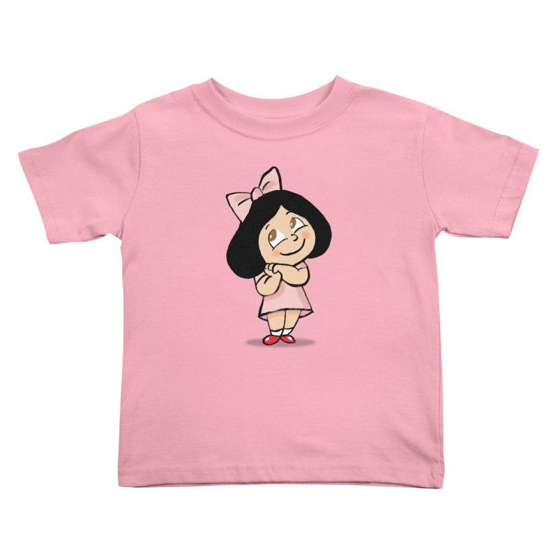 Yelitza Kids Toddler T-Shirt by La Tiendita Pepito