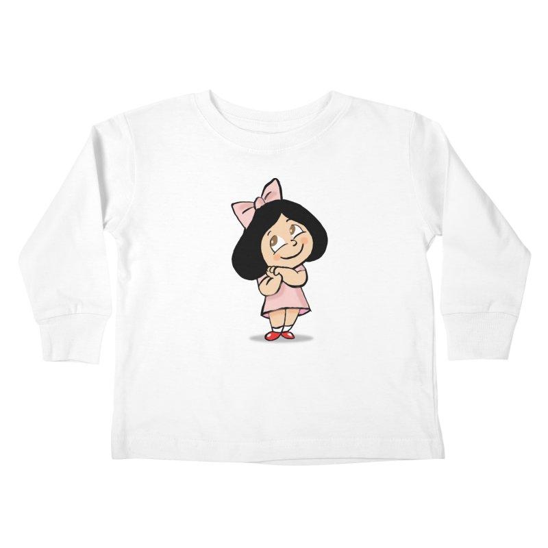 Yelitza Kids Toddler Longsleeve T-Shirt by La Tiendita Pepito