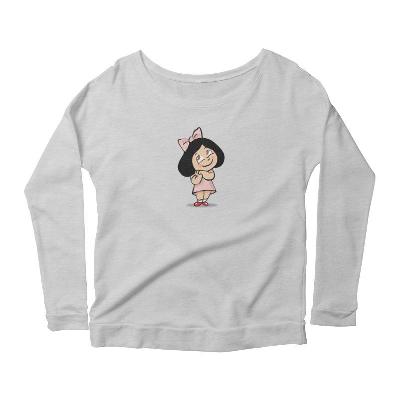 Yelitza Women's Scoop Neck Longsleeve T-Shirt by La Tiendita Pepito