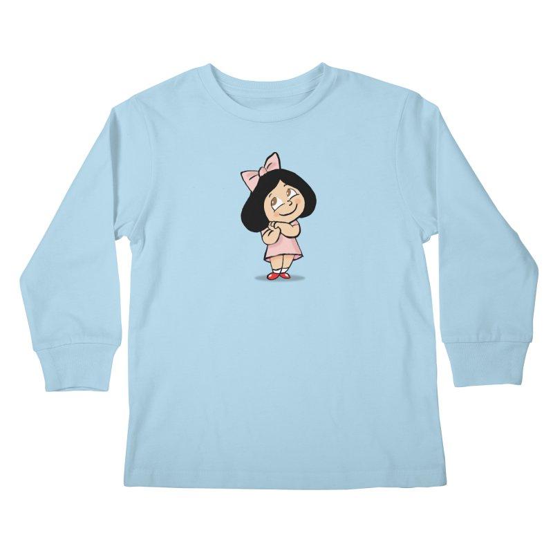 Yelitza Kids Longsleeve T-Shirt by La Tiendita Pepito