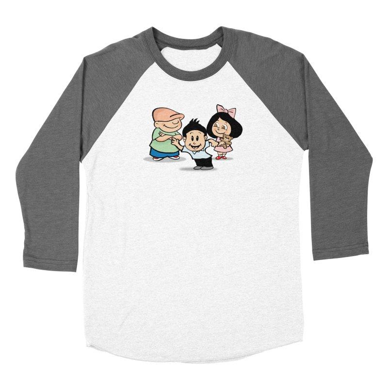 La Ganga Men's Baseball Triblend Longsleeve T-Shirt by La Tiendita Pepito