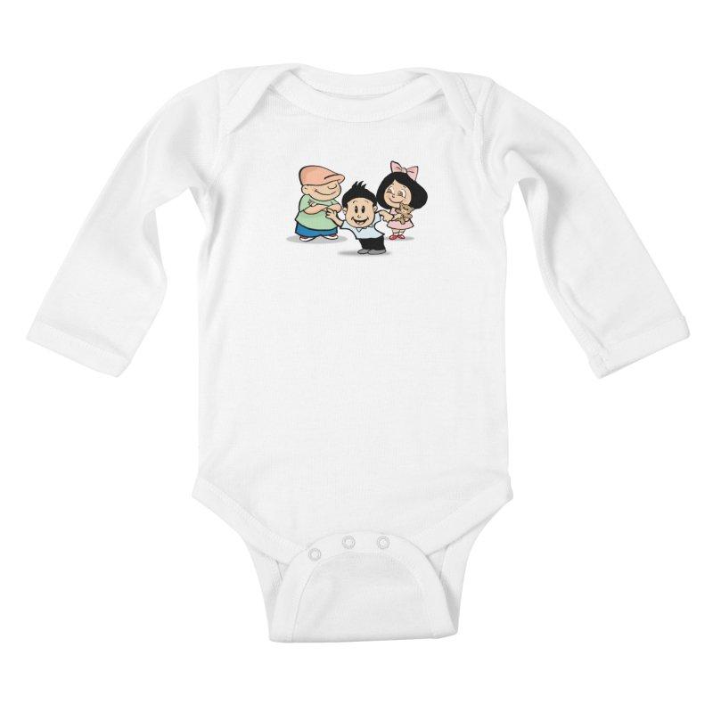 La Ganga Kids Baby Longsleeve Bodysuit by La Tiendita Pepito