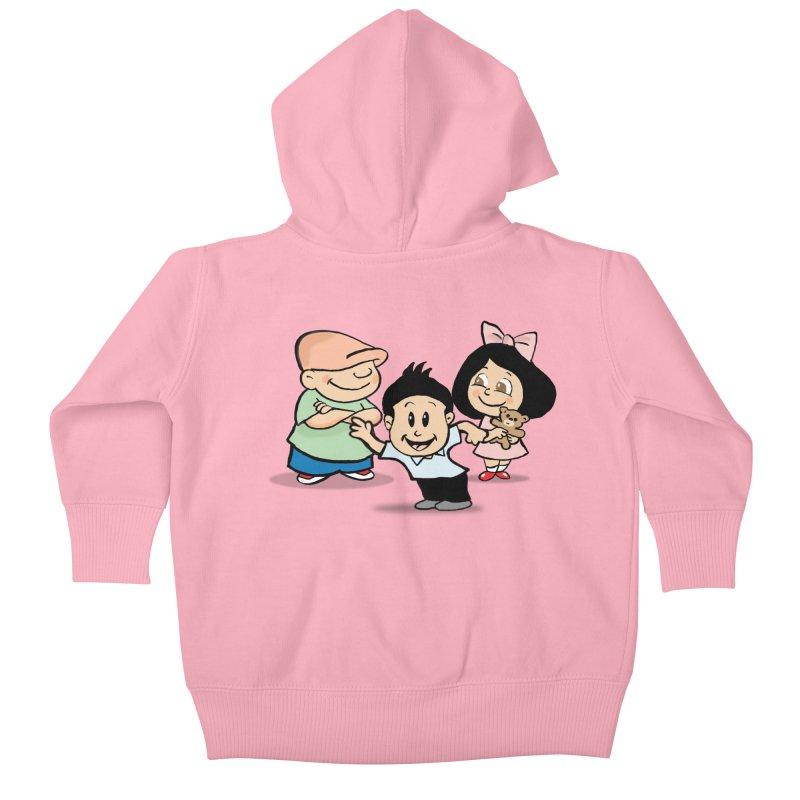 La Ganga Kids Baby Zip-Up Hoody by La Tiendita Pepito