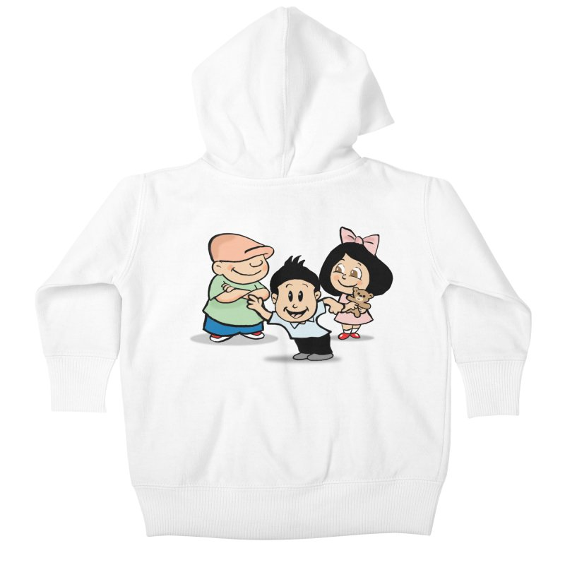 La Ganga Kids Baby Zip-Up Hoody by La Tiendita Pepito