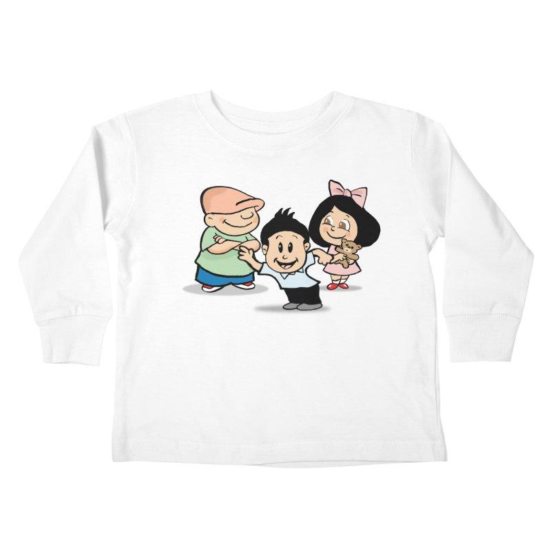 La Ganga Kids Toddler Longsleeve T-Shirt by La Tiendita Pepito