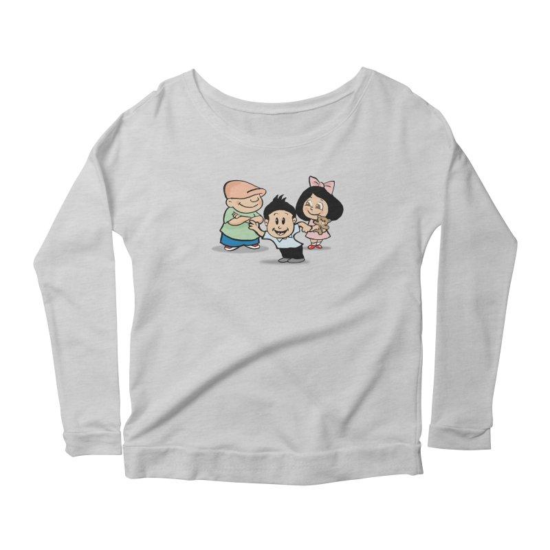 La Ganga Women's Scoop Neck Longsleeve T-Shirt by La Tiendita Pepito