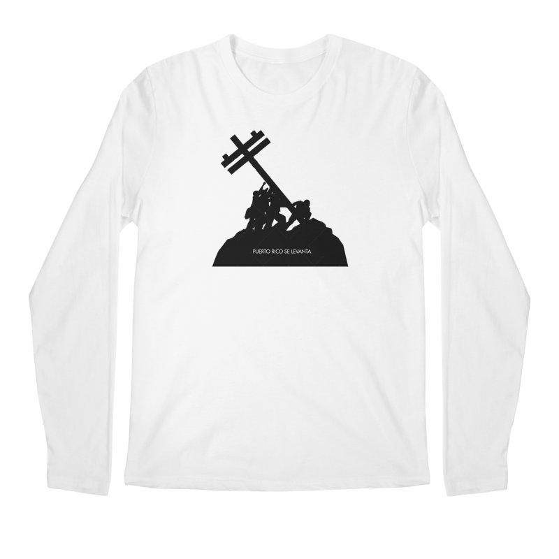 Puerto Rico se levanta Men's Regular Longsleeve T-Shirt by La Tiendita Pepito