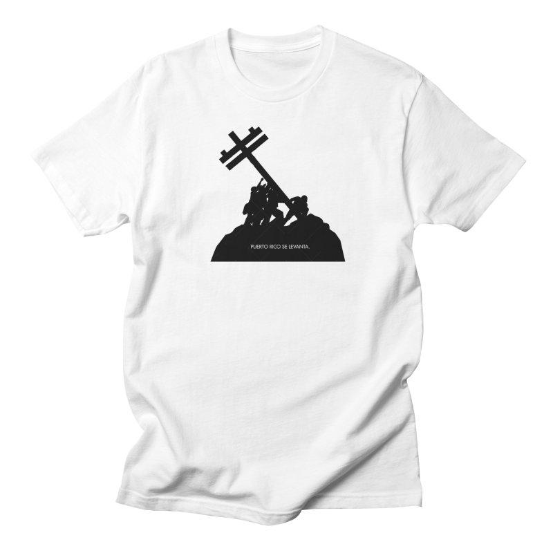 Puerto Rico se levanta Men's Regular T-Shirt by La Tiendita Pepito