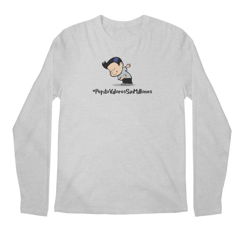 Valores Men's Regular Longsleeve T-Shirt by La Tiendita Pepito