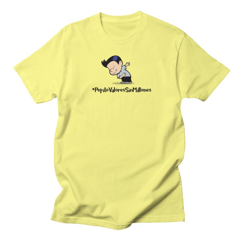 Valores Women's Regular Unisex T-Shirt by La Tiendita Pepito
