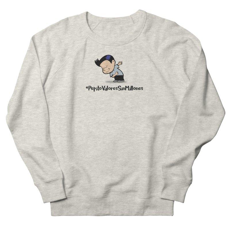Valores Men's French Terry Sweatshirt by La Tiendita Pepito