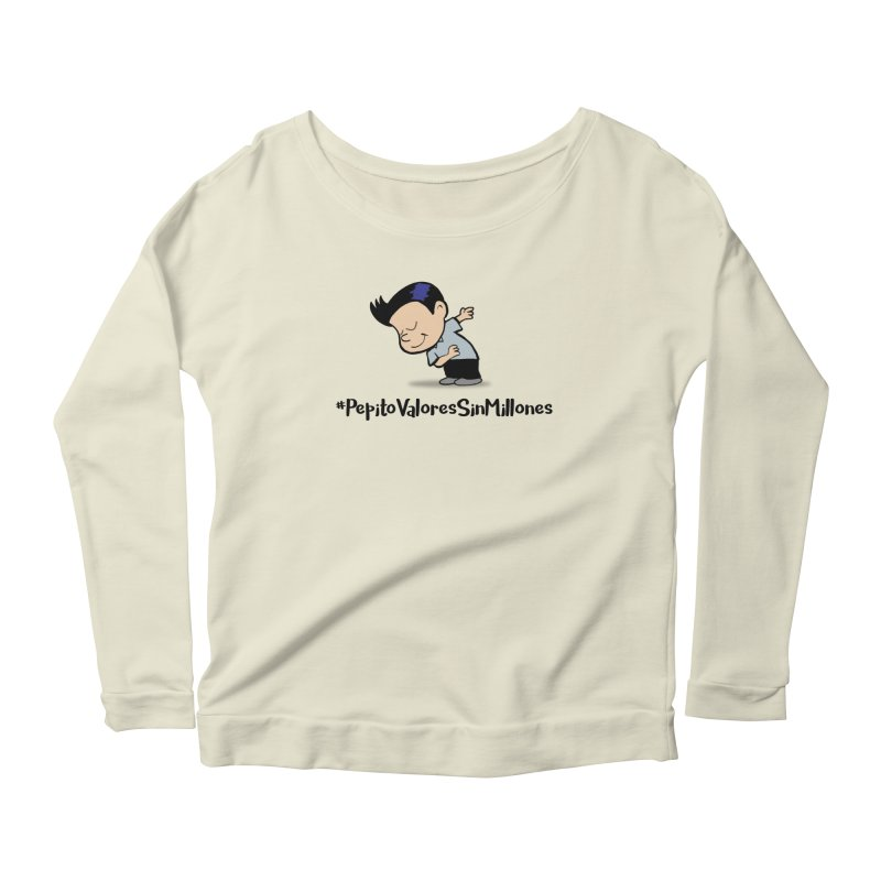 Valores Women's Scoop Neck Longsleeve T-Shirt by La Tiendita Pepito