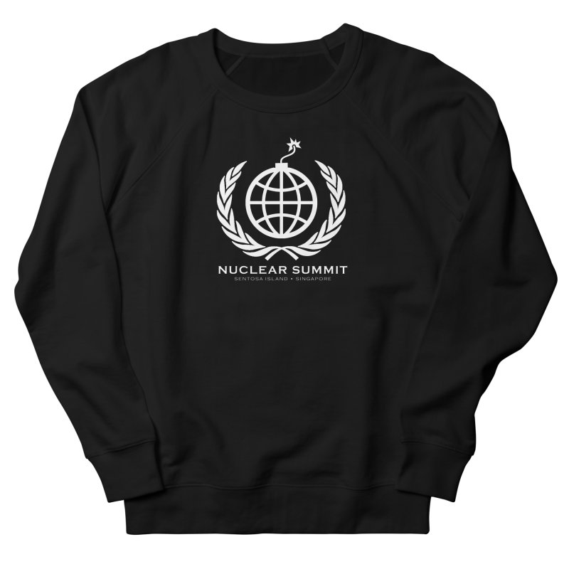 Nuclear Summit Men's French Terry Sweatshirt by La Tiendita Pepito