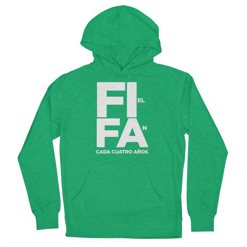 FIFA Women's French Terry Pullover Hoody by La Tiendita Pepito
