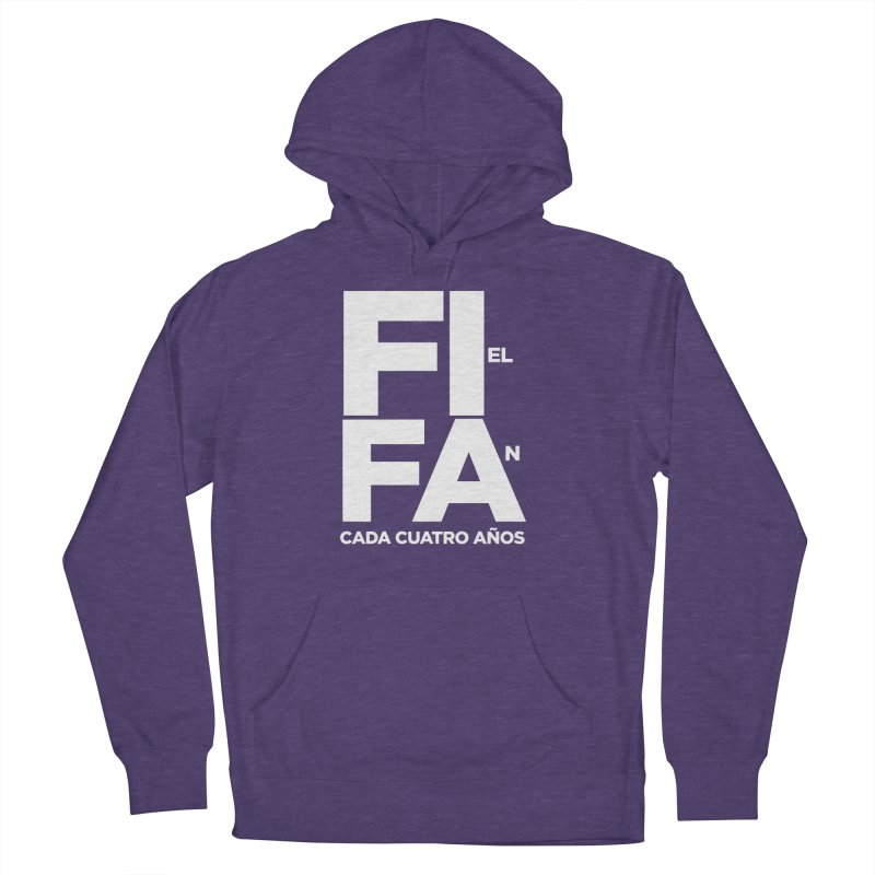 FIFA Men's French Terry Pullover Hoody by La Tiendita Pepito