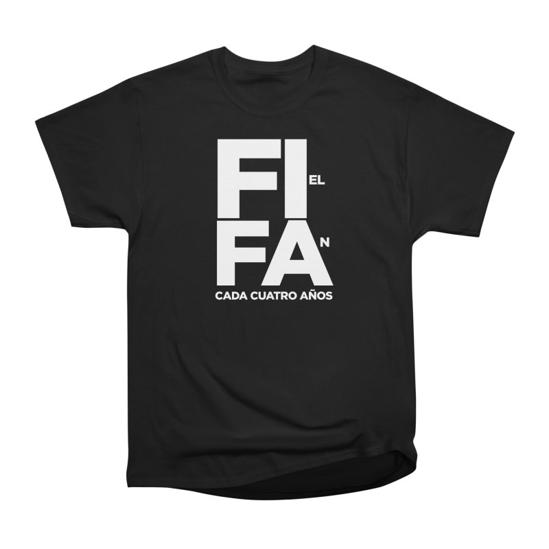 FIFA Men's Heavyweight T-Shirt by La Tiendita Pepito