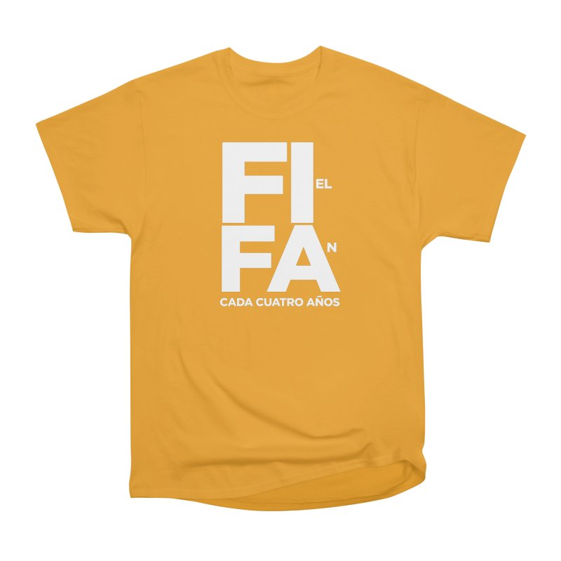 FIFA Women's Heavyweight Unisex T-Shirt by La Tiendita Pepito