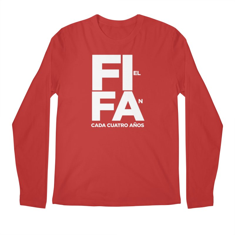FIFA Men's Regular Longsleeve T-Shirt by La Tiendita Pepito