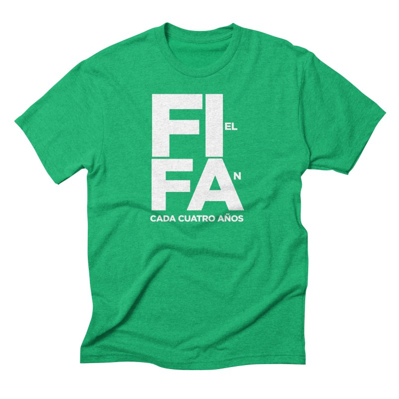 FIFA Men's Triblend T-Shirt by La Tiendita Pepito