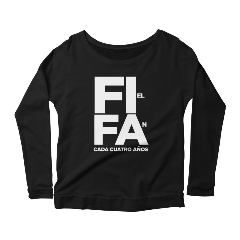 FIFA Women's Scoop Neck Longsleeve T-Shirt by La Tiendita Pepito