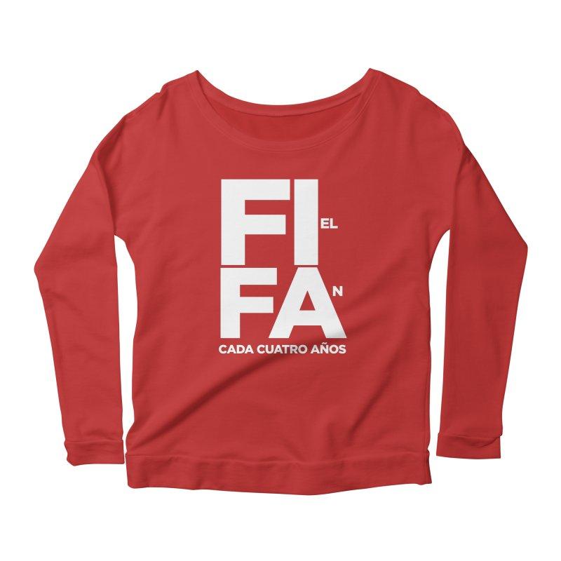 FIFA Women's Scoop Neck Longsleeve T-Shirt by La Tiendita Pepito