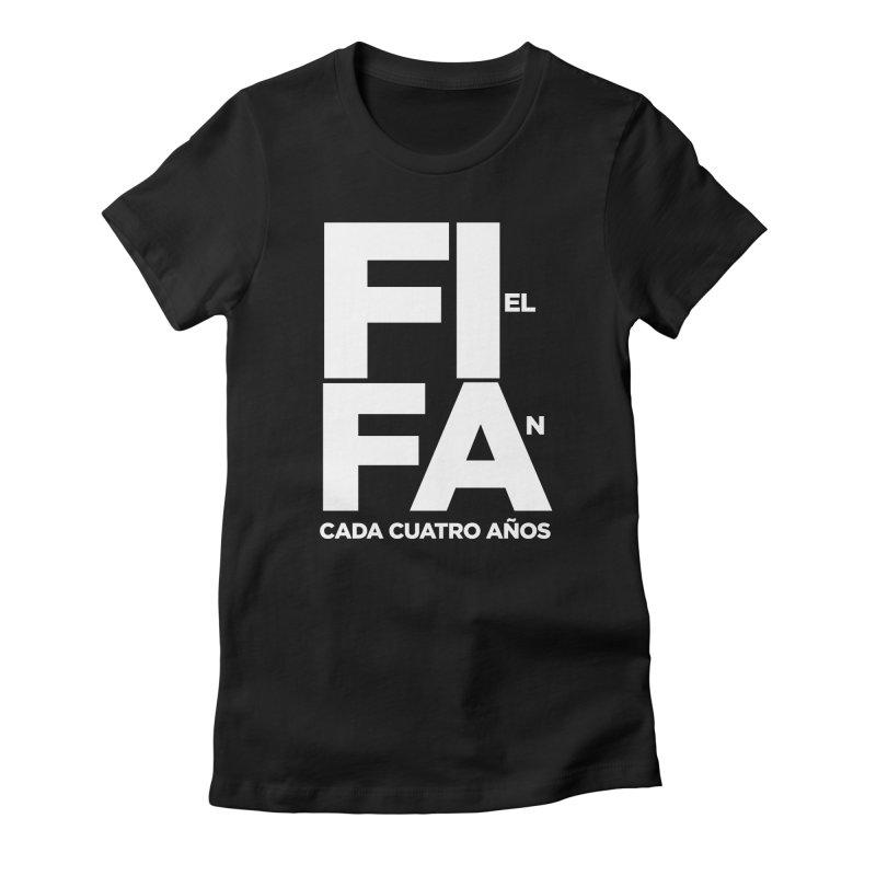 FIFA Women's Fitted T-Shirt by La Tiendita Pepito