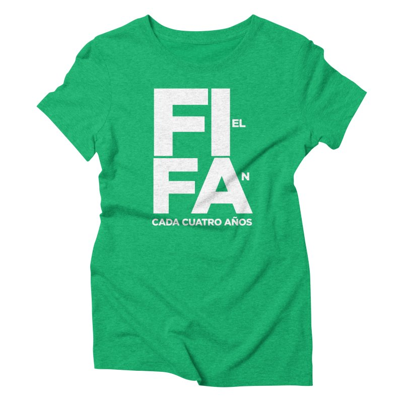 FIFA Women's Triblend T-Shirt by La Tiendita Pepito
