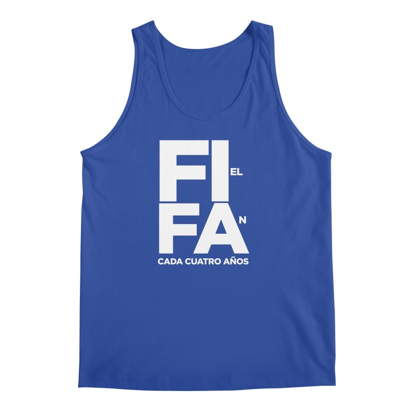 FIFA Men's Regular Tank by La Tiendita Pepito