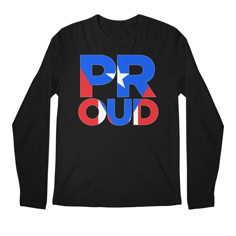 PROUD Men's Regular Longsleeve T-Shirt by La Tiendita Pepito