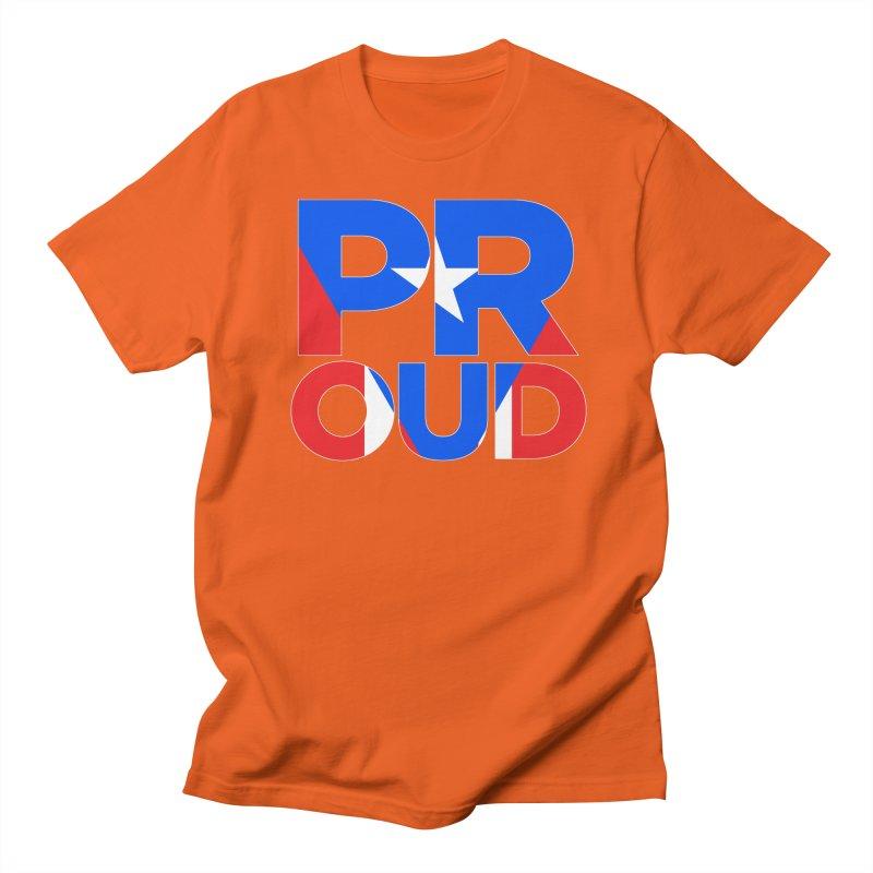 PROUD Men's Regular T-Shirt by La Tiendita Pepito