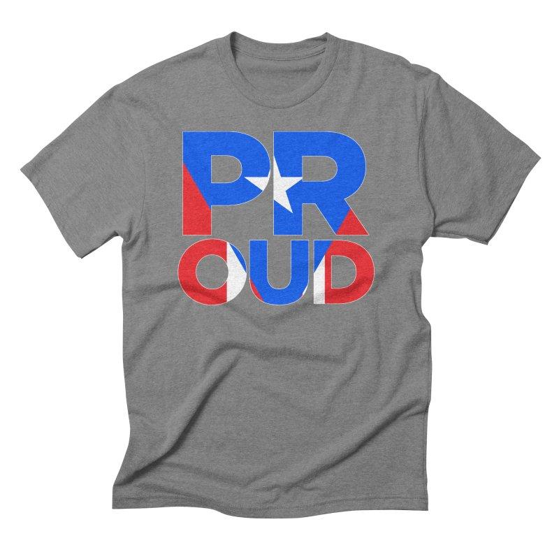 PROUD Men's Triblend T-Shirt by La Tiendita Pepito