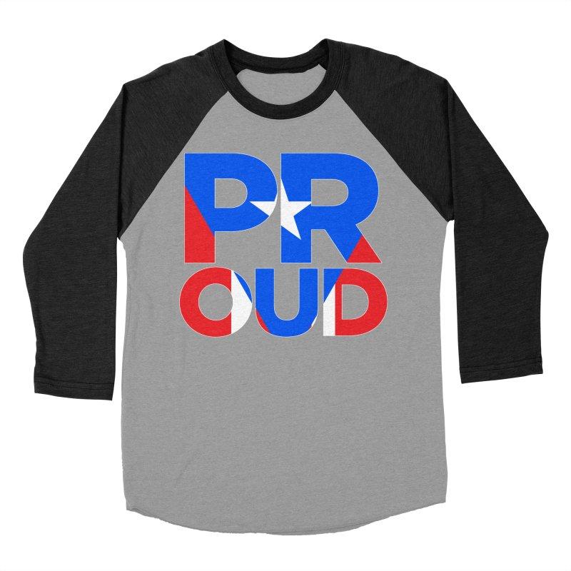 PROUD Women's Baseball Triblend Longsleeve T-Shirt by La Tiendita Pepito