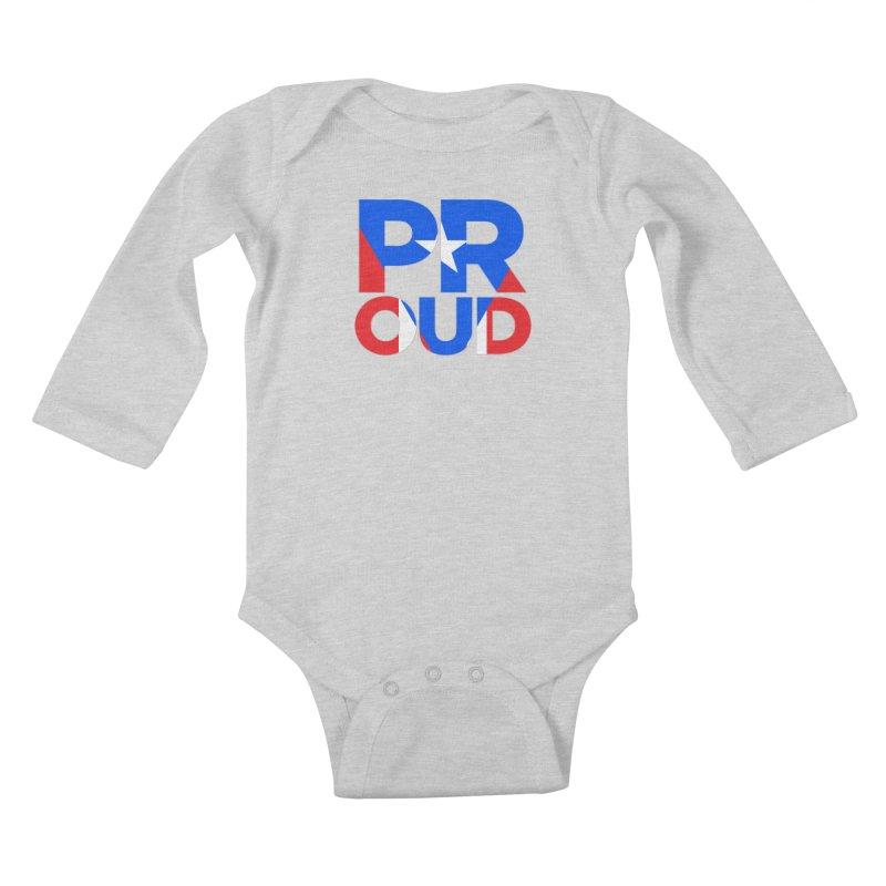 PROUD Kids Baby Longsleeve Bodysuit by La Tiendita Pepito