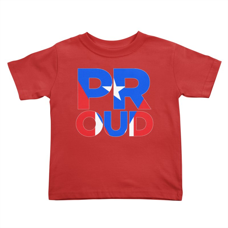 PROUD Kids Toddler T-Shirt by La Tiendita Pepito