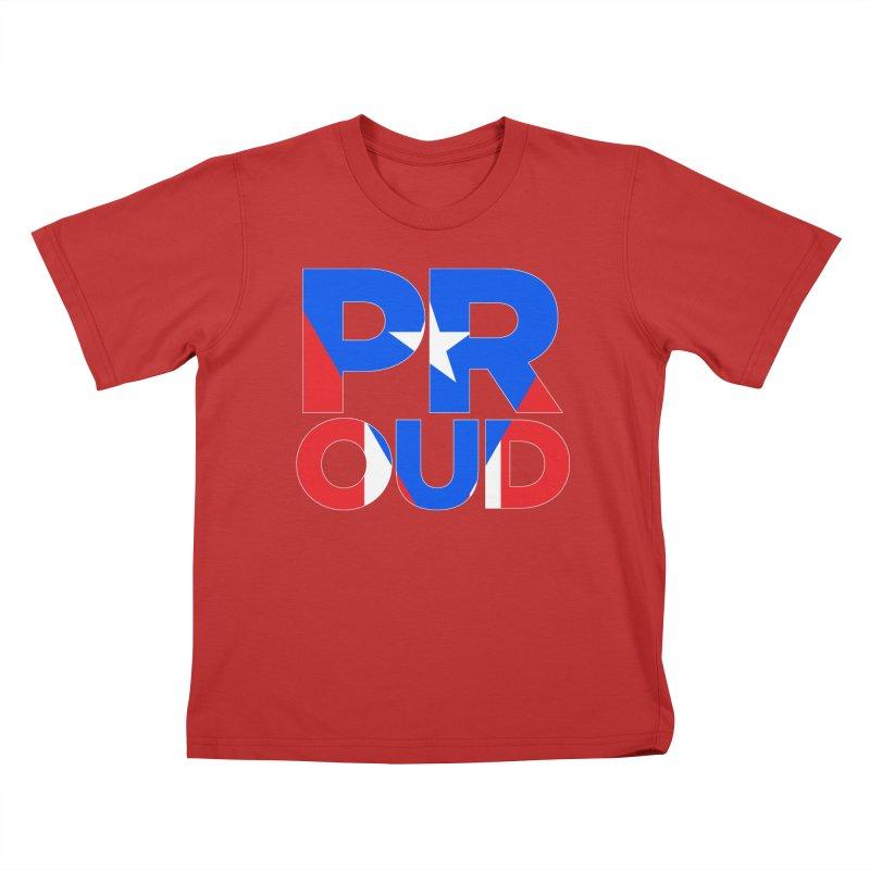 PROUD Kids T-Shirt by La Tiendita Pepito