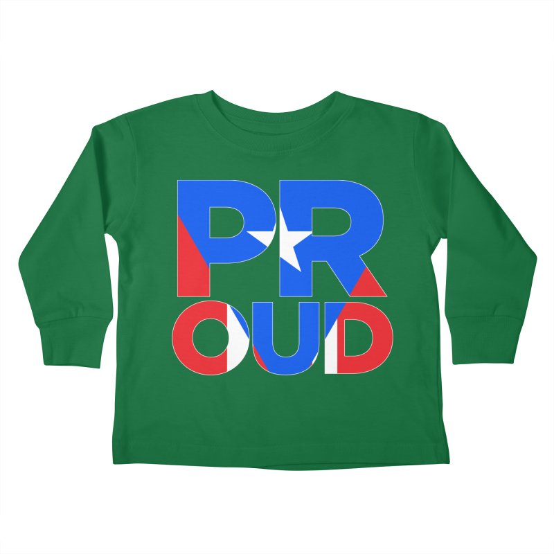 PROUD Kids Toddler Longsleeve T-Shirt by La Tiendita Pepito