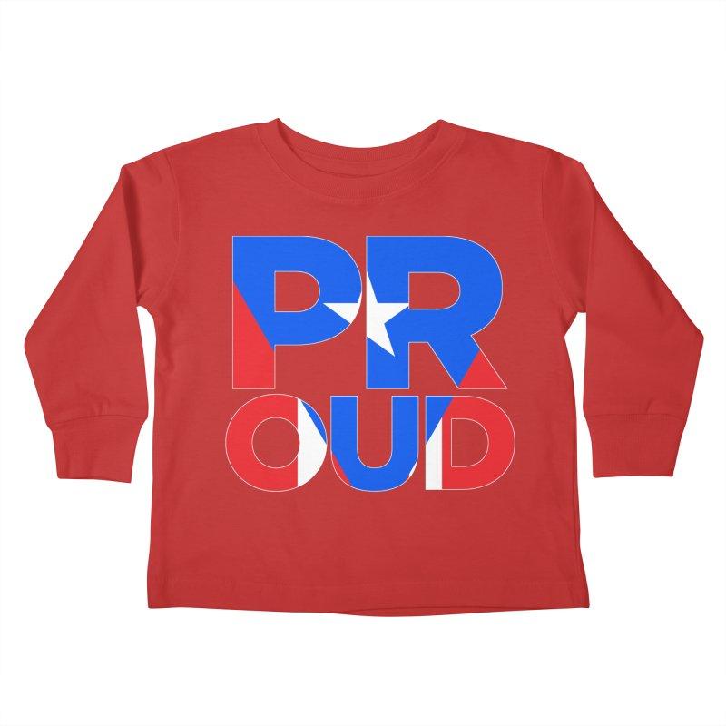 PROUD Kids Toddler Longsleeve T-Shirt by La Tiendita Pepito