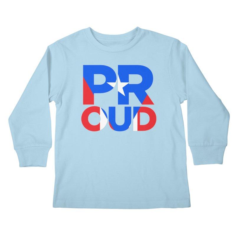 PROUD Kids Longsleeve T-Shirt by La Tiendita Pepito