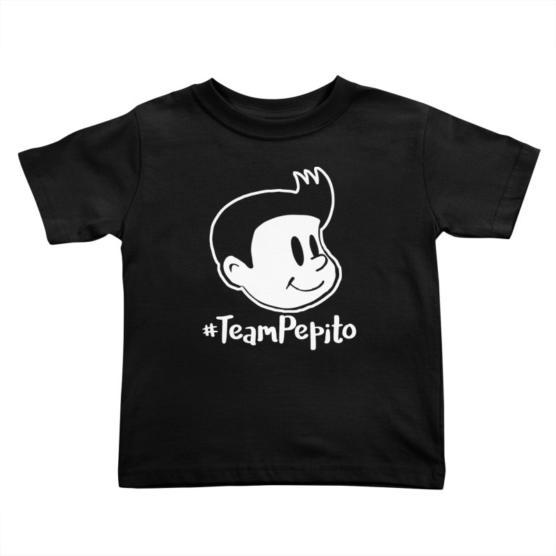 #TeamPepito Reversed Kids Toddler T-Shirt by La Tiendita Pepito