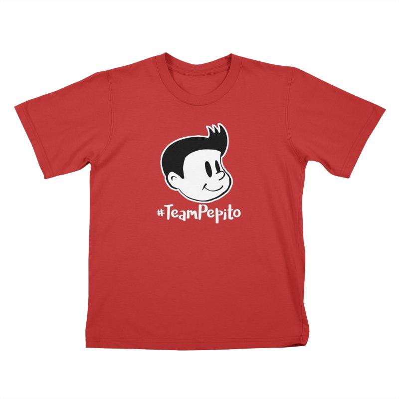 #TeamPepito Reversed Kids T-Shirt by La Tiendita Pepito