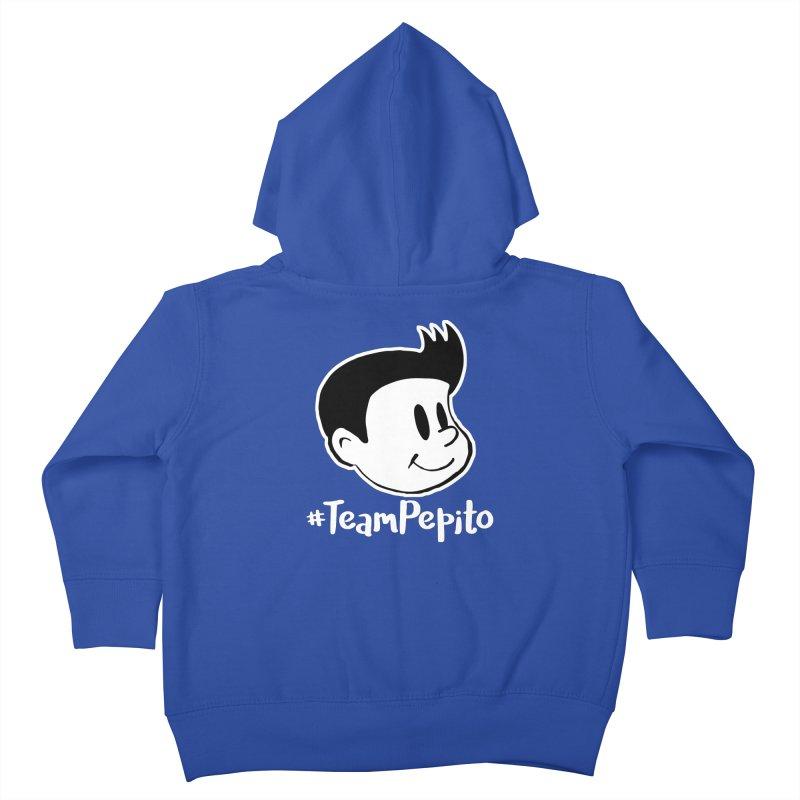#TeamPepito Reversed Kids Toddler Zip-Up Hoody by La Tiendita Pepito