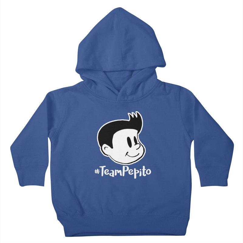 #TeamPepito Reversed Kids Toddler Pullover Hoody by La Tiendita Pepito