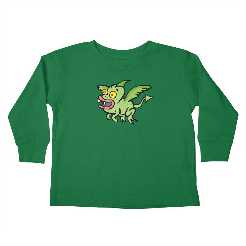 Chupi con Alas Kids Toddler Longsleeve T-Shirt by La Tiendita Pepito