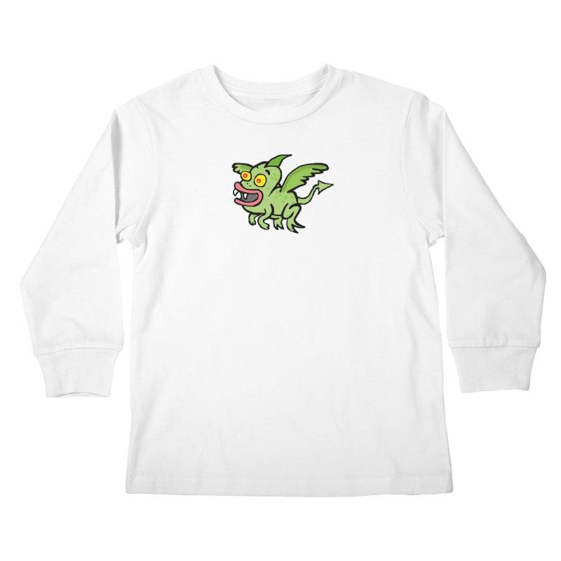 Chupi con Alas Kids Longsleeve T-Shirt by La Tiendita Pepito