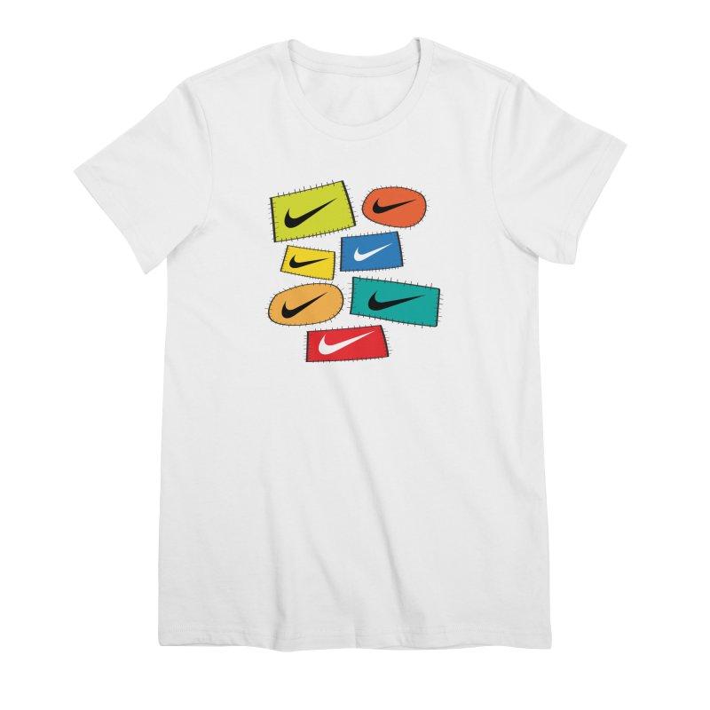Cut-Outs Women's Premium T-Shirt by La Tiendita Pepito