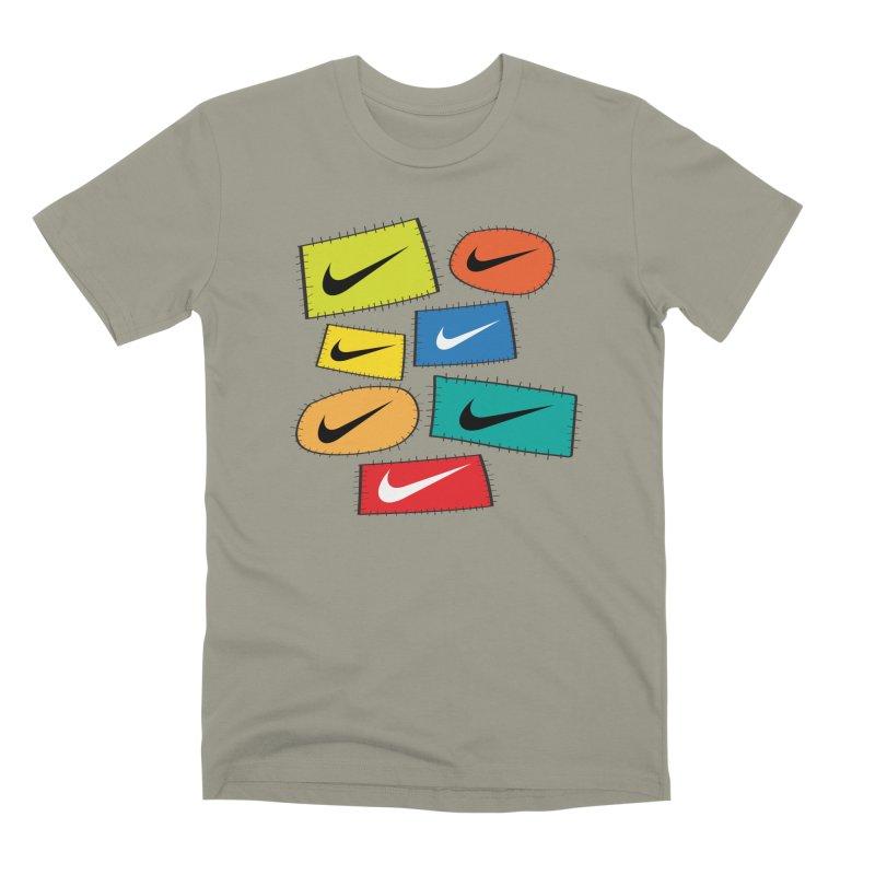 Cut-Outs Men's Premium T-Shirt by La Tiendita Pepito