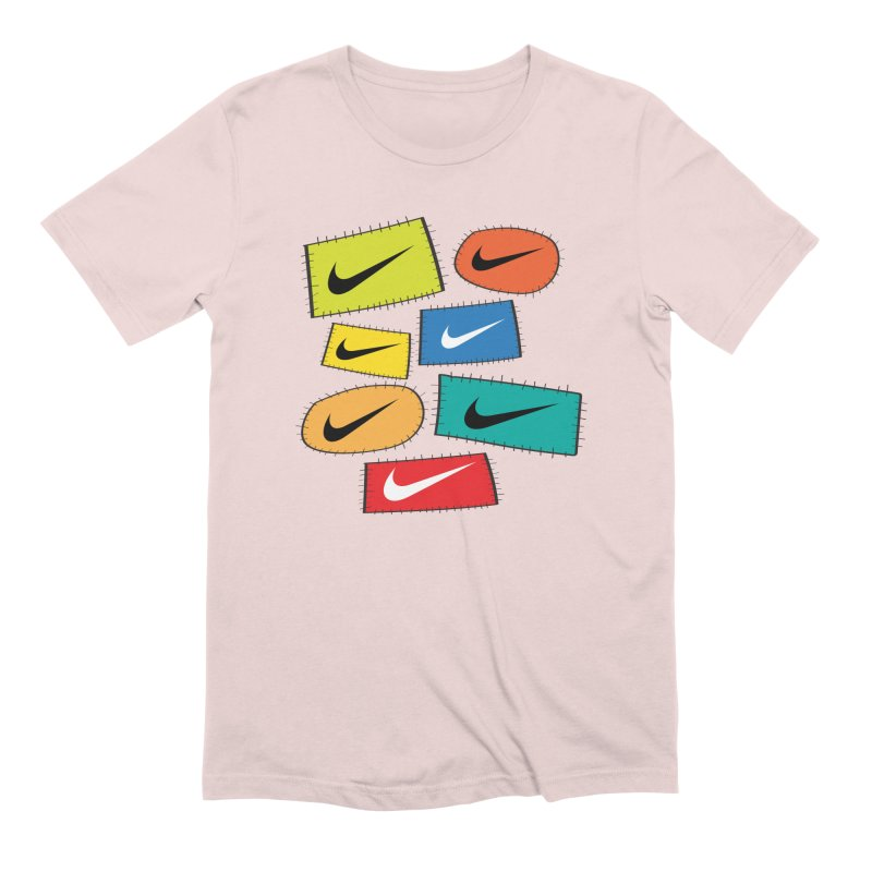 Cut-Outs Men's Extra Soft T-Shirt by La Tiendita Pepito